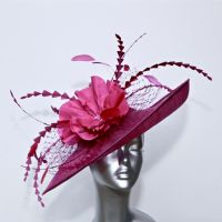 Statement Mother of the Bride Hatinator in Magenta 16365/SD198